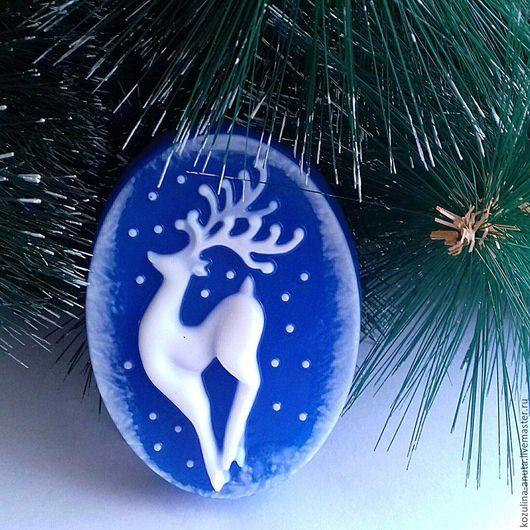 мыло сказочный олень,сказочный олень,новонодний подарок,мыло в подарок,новый год,олень