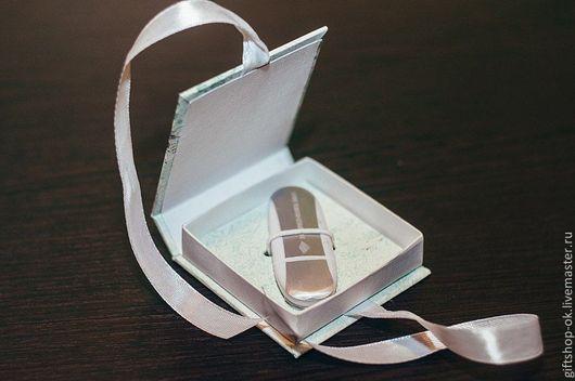 Подарки на свадьбу ручной работы. Ярмарка Мастеров - ручная работа. Купить Коробочка для флешки. Handmade. Коробочки для флешки, футляры для флешки