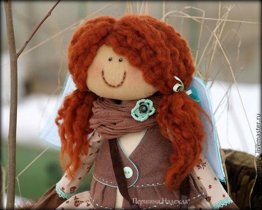 Ароматизированные куклы ручной работы. Ярмарка Мастеров - ручная работа. Купить Фея Мятной мечты. Ароматизированная Коллекционная кукла. Handmade.