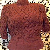 Одежда ручной работы. Ярмарка Мастеров - ручная работа Вязанная кофта.. Handmade.