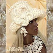 Аксессуары handmade. Livemaster - original item Winter knitted hat