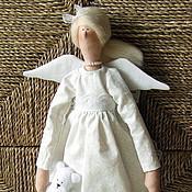 Куклы Тильда ручной работы. Ярмарка Мастеров - ручная работа Ангел в белом. Handmade.