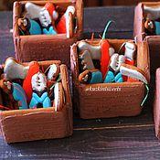 """Пряники ручной работы. Ярмарка Мастеров - ручная работа Имбирный пряник  """"Ящик с инструментами"""". Handmade."""