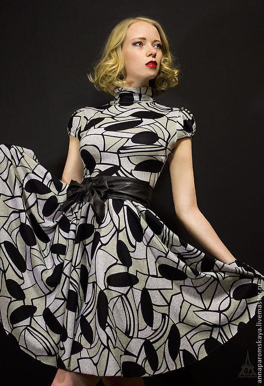 Платья ручной работы. Ярмарка Мастеров - ручная работа. Купить Платье + пояс в подарок. Handmade. Платье из трикотажа