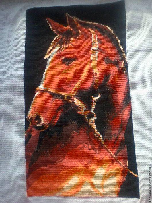 Животные ручной работы. Ярмарка Мастеров - ручная работа. Купить Великолепный конь ( без рамки). Handmade. Рыжий