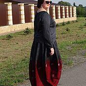 Одежда ручной работы. Ярмарка Мастеров - ручная работа Валяная юбка-баллон. Handmade.