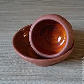 """Посуда ручной работы. Ярмарка Мастеров - ручная работа Горшочек """"Вулканический"""". Handmade."""