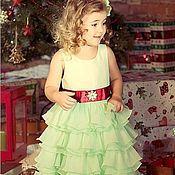 Работы для детей, ручной работы. Ярмарка Мастеров - ручная работа Eva нарядное платье для девочки. Handmade.