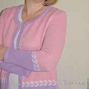 """Одежда ручной работы. Ярмарка Мастеров - ручная работа Вязаный жакет """"Весенний"""". Handmade."""