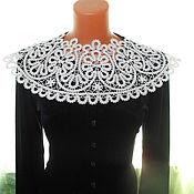 Аксессуары handmade. Livemaster - original item Trim on the dress Floral round dance.. Handmade.