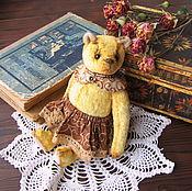 Куклы и игрушки ручной работы. Ярмарка Мастеров - ручная работа Мишутка Агнес. Handmade.