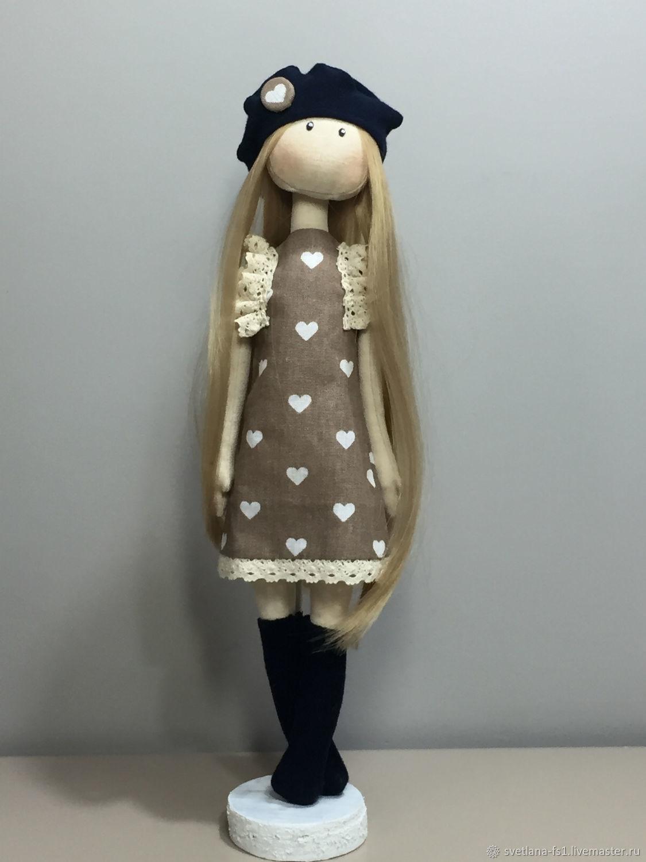 Кукла текстильная, Портретная кукла, Калуга,  Фото №1