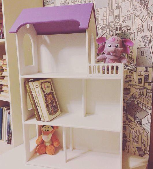 Кукольный дом ручной работы. Ярмарка Мастеров - ручная работа. Купить Домик для игрушек. Handmade. Дом, дети, фанера