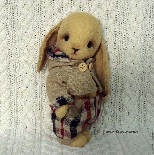 Мишки Тедди ручной работы. Ярмарка Мастеров - ручная работа. Купить Сэм. Handmade. Желтый, заяц игрушка, игрушка заяц