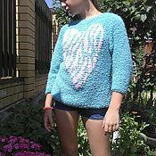 """Одежда ручной работы. Ярмарка Мастеров - ручная работа Вязаный свитер """"Sweetheart"""". Handmade."""