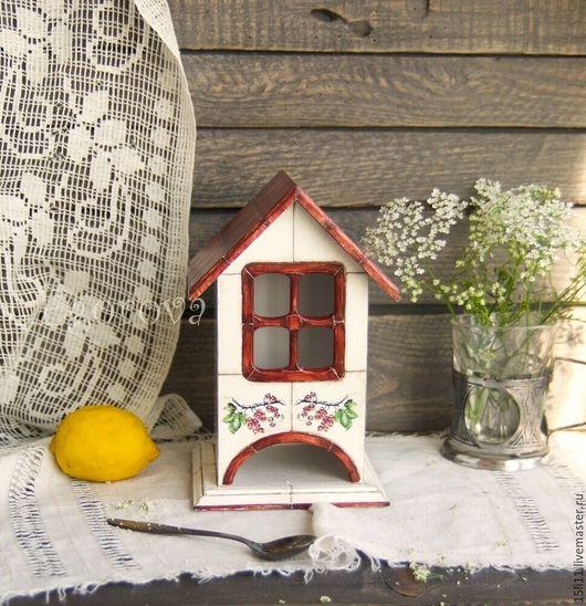 """Кухня ручной работы. Ярмарка Мастеров - ручная работа. Купить Чайный домик """"Ягодный"""". Handmade. Комбинированный, старение, подарок свекрови"""