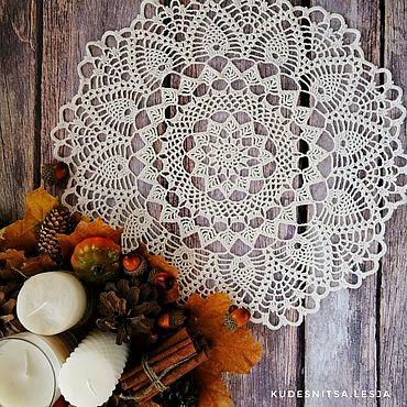 Для дома и интерьера ручной работы. Ярмарка Мастеров - ручная работа Салфетка из хлопка. Handmade.