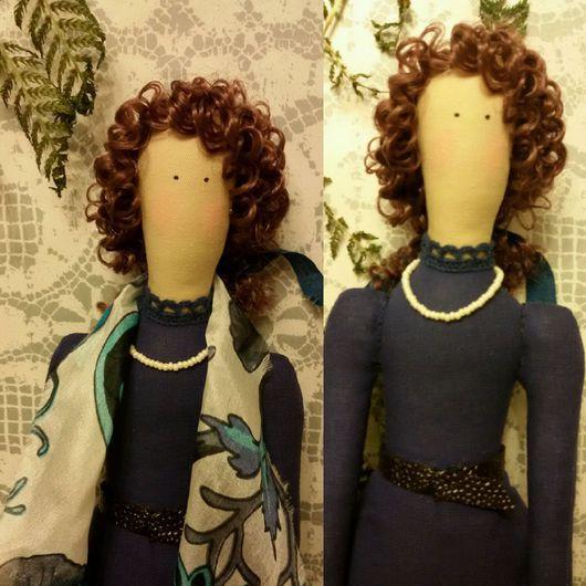 Куклы Тильды ручной работы. Ярмарка Мастеров - ручная работа. Купить Фея портретная в стиле Тильда. Handmade. хлопок 100%