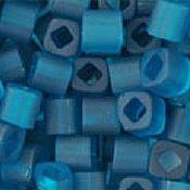 Материалы для творчества handmade. Livemaster - original item 10gr 3 mm cube 7BDF emerald Japanese beads TOHO mats proz. Handmade.
