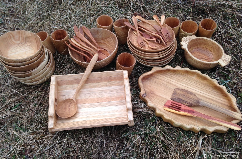 посуда из дерева картинки подойдёт для мужчин
