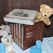 """Для дома и интерьера ручной работы. Ярмарка Мастеров - ручная работа Короб """"Secret box"""". Handmade."""