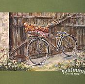 Картины и панно handmade. Livemaster - original item Watercolor painting FRESH ROLLS. Handmade.