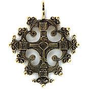 Украшения ручной работы. Ярмарка Мастеров - ручная работа Процветший крест (2) Прорезной крест Казачий крест Наперсный крест. Handmade.