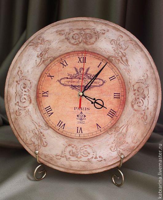 """Часы для дома ручной работы. Ярмарка Мастеров - ручная работа. Купить Часы """"Сельский шик"""". Handmade. Часы настенные"""