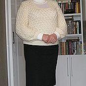 """Одежда ручной работы. Ярмарка Мастеров - ручная работа Пуловер """"Снежинка"""". Handmade."""