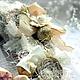 Новый год 2017 ручной работы. Новогодний Венок. еlena olinevich (elena-olinevich). Ярмарка Мастеров. Рождественский венок, лён