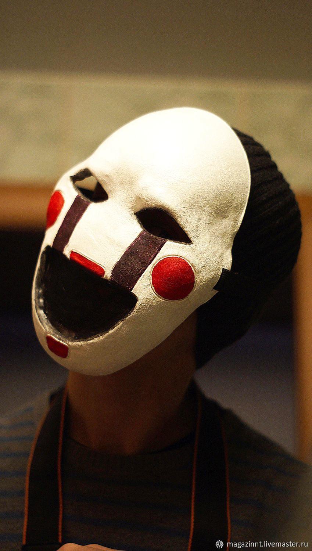 Фото головы марионетки из фнаф