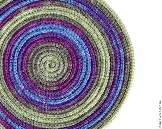 Шарфы и шарфики ручной работы. Ярмарка Мастеров - ручная работа. Купить ШарфоБусы Lasso Violet. Handmade. Украшение на шею