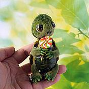 Куклы и игрушки ручной работы. Ярмарка Мастеров - ручная работа Сластена, черепашка тедди. Handmade.