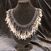 Украшения handmade. Livemaster - original item Necklace Galaxy. Handmade.