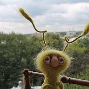 Куклы и игрушки ручной работы. Ярмарка Мастеров - ручная работа Зелёненький. Handmade.