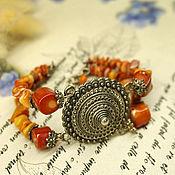 Украшения handmade. Livemaster - original item Coral bracelet