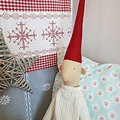 Куклы и игрушки handmade. Livemaster - original item Christmas elf myleg. Handmade.