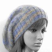 Аксессуары handmade. Livemaster - original item Women`s knitted hat (beanie), beanie mohair. Handmade.