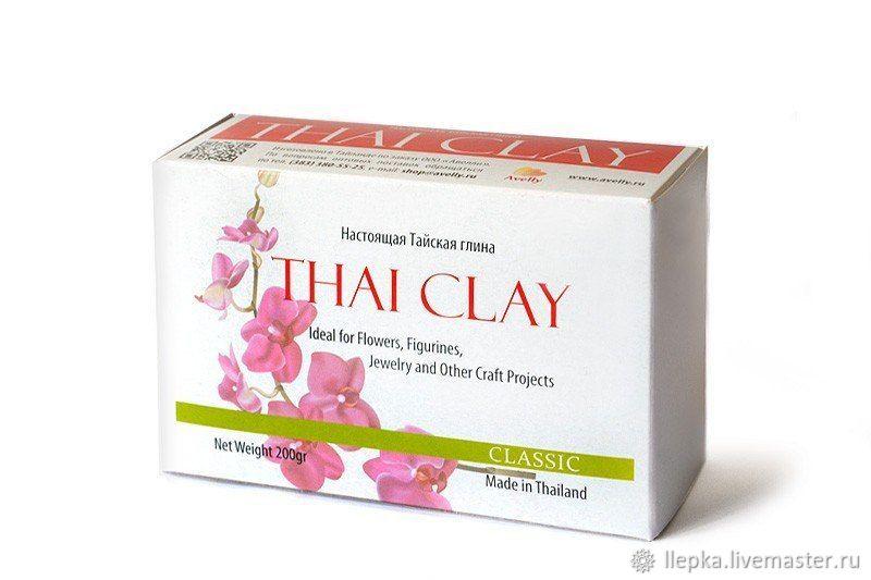 Thai Clay Classic, белая, 200 г, Глина, Ростов-на-Дону,  Фото №1