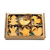 Для дома и интерьера handmade. Livemaster - original item Set of toys made of birch bark. Birch bark toys. Handmade.