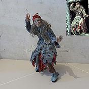 Куклы и игрушки ручной работы. Ярмарка Мастеров - ручная работа Баба Яга из фильма Василисы Прекрасной 2. Handmade.
