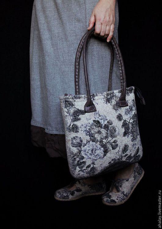 Женские сумки ручной работы. Ярмарка Мастеров - ручная работа. Купить Сумка женская бохо из войлока ручной работы. Handmade.