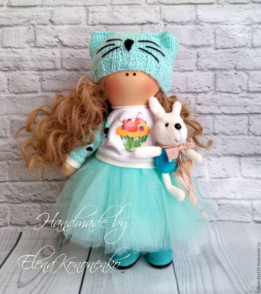 Коллекционные куклы ручной работы. Ярмарка Мастеров - ручная работа. Купить Интерьерная кукла ручной работы. Handmade. Кукла