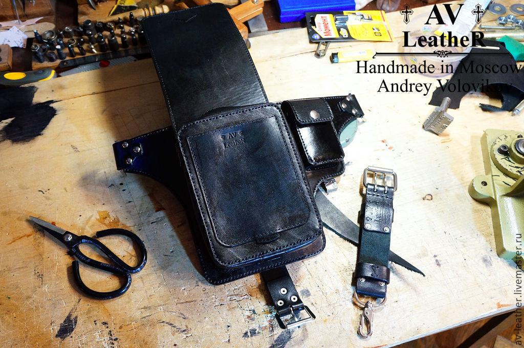 Байкерские аксессуары для байкеров кожаные