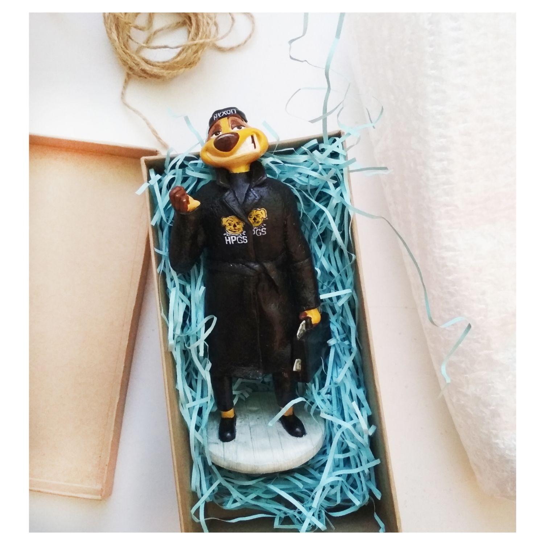 Фигурка из полимерной глины Тимон, Именные сувениры, Санкт-Петербург,  Фото №1