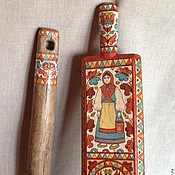 Русский стиль handmade. Livemaster - original item Rubel vintage and a rolling pin 19th century.. Handmade.