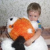 Куклы и игрушки handmade. Livemaster - original item Cushion Dog toy. Handmade.