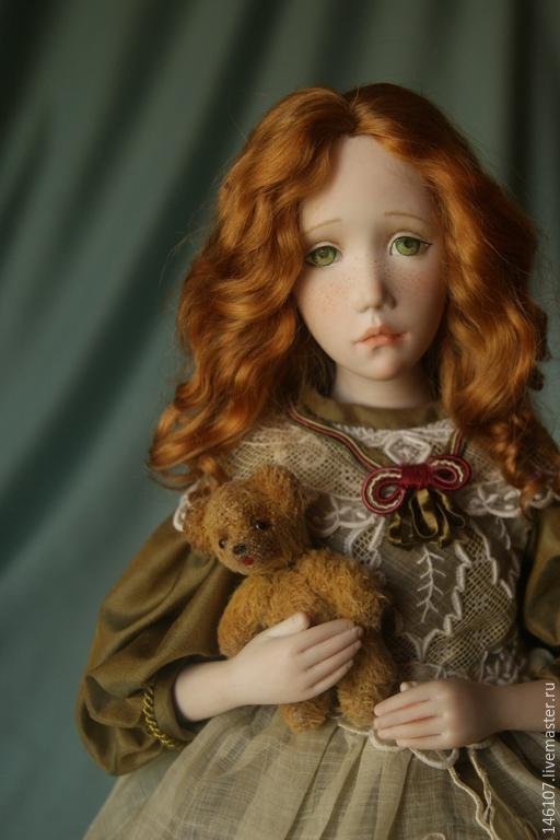 Коллекционные куклы ручной работы. Ярмарка Мастеров - ручная работа. Купить Катенька. Handmade. Разноцветный, см описание