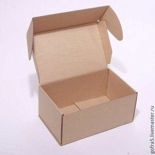 Папки для бумаг ручной работы. Ярмарка Мастеров - ручная работа. Купить Почтовая коробка Тип Ж. Handmade. Почтовая упаковка