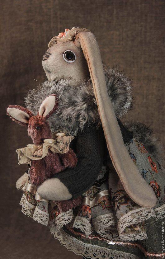 Куклы и игрушки ручной работы. Ярмарка Мастеров - ручная работа. Купить Авторская интерьерная кукла Заинька Рози. Handmade.